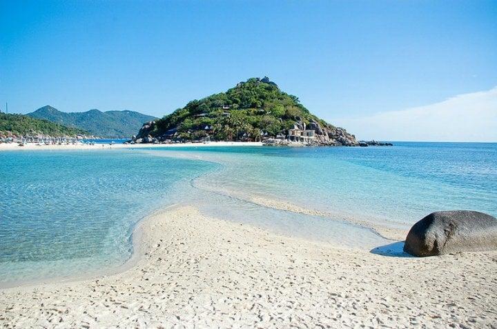plage ile thailande koh tao - blog go voyages
