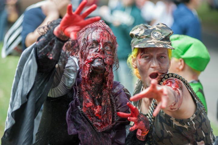 zombies parade - blog go voyages