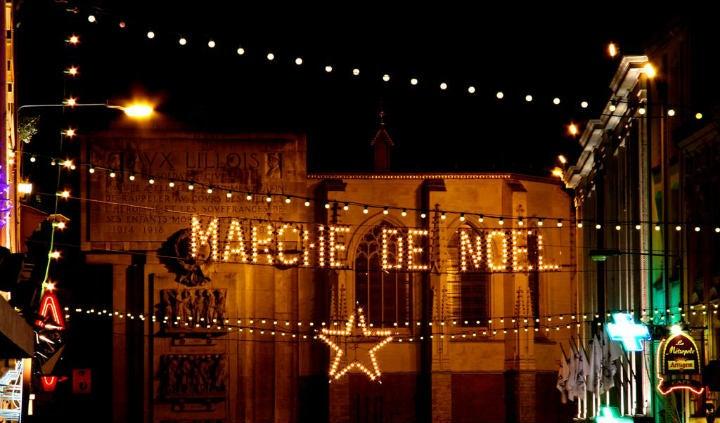 Marché de Noël Lille - blog go voyages