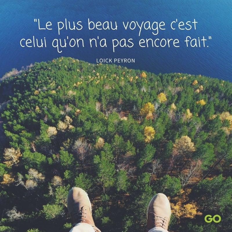 citation voyage loick peyron - blog go voyages