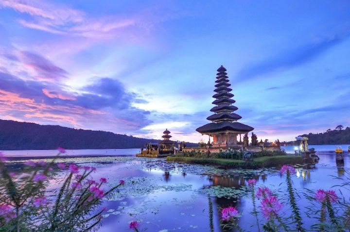 temple lac île paradisiaque de bali - blog go voyages