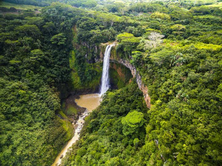 cascade de chamarel île paradisiaque île maurice - blog go voyages