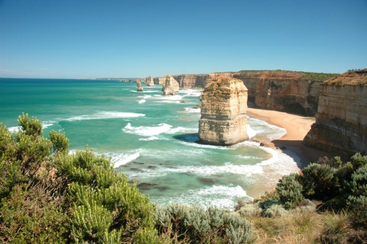 falaises cote great ocean road - blog go voyages
