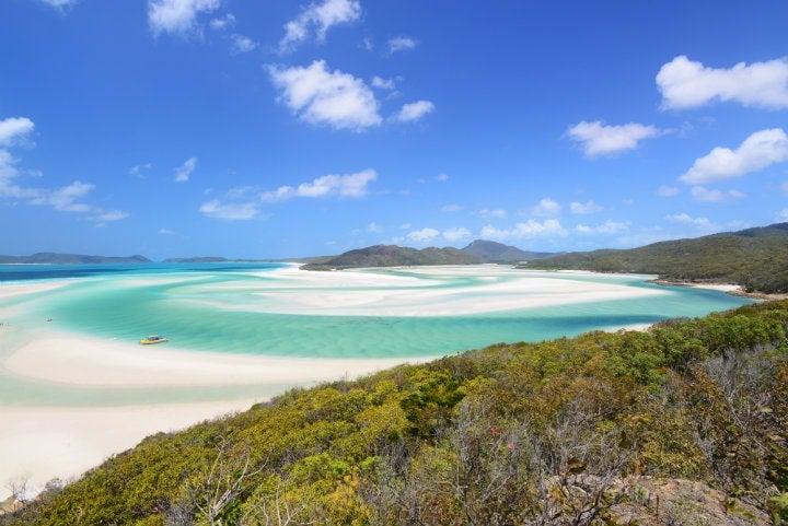 plage whitehaven australie - blog go voyages