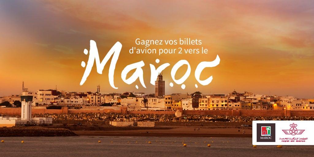 jeu concours Maroc - blog go voyages