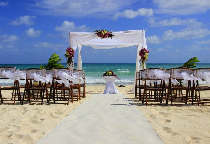 mariage plage cancun - blog go voyages