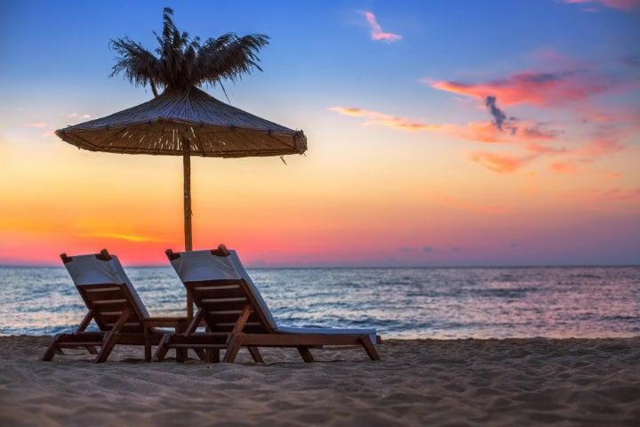 mariage plage chaises longues république dominicaine - blog go voyages