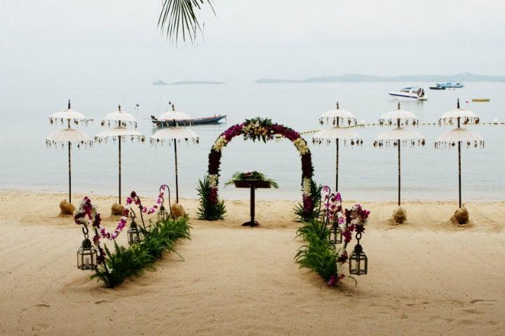 mariage plage thaïlande - blog go voyages