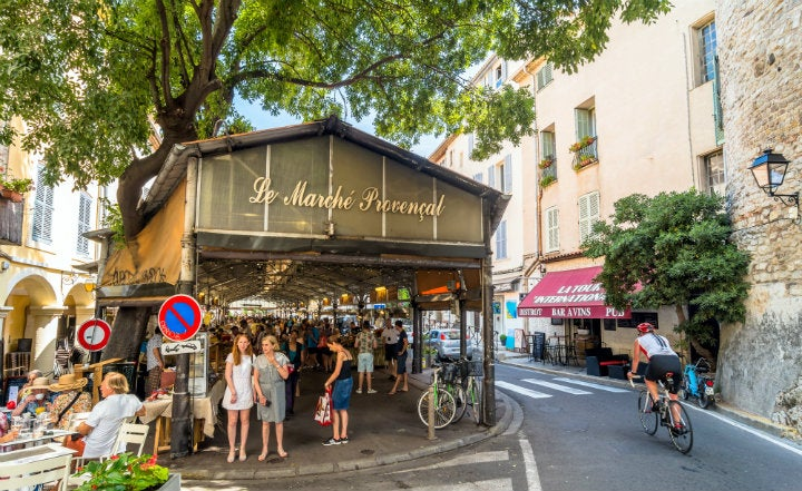 marché antibes france - blog GO Voyages