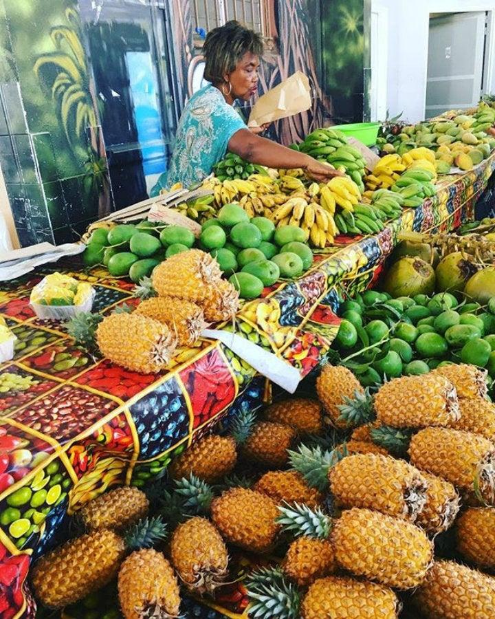 marché de l'ermitage la réunion - blog GO Voyages