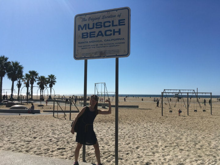 muscle beach californie - blog GO Voyages