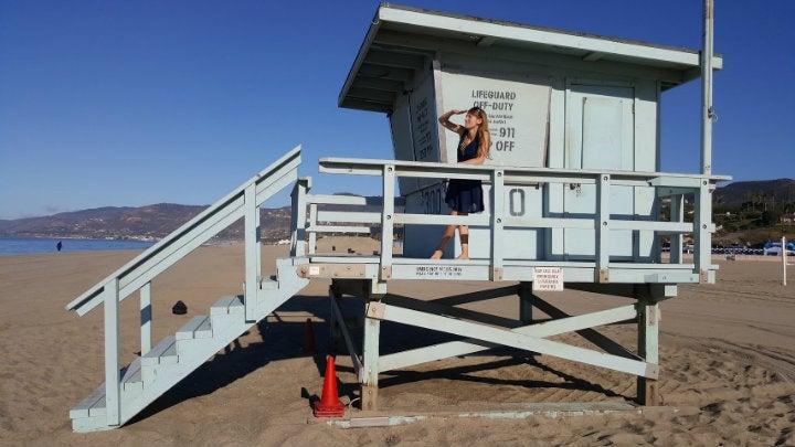 poste surveillance plage malibu californie - blog GO Voyages