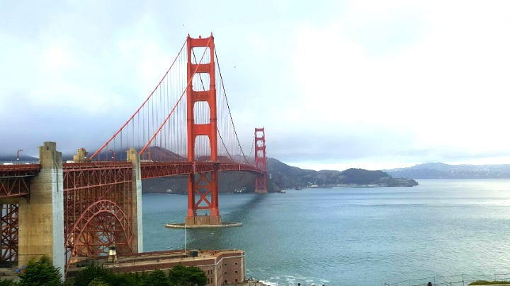 golden gate bridge pont san francisco - blog GO Voyages