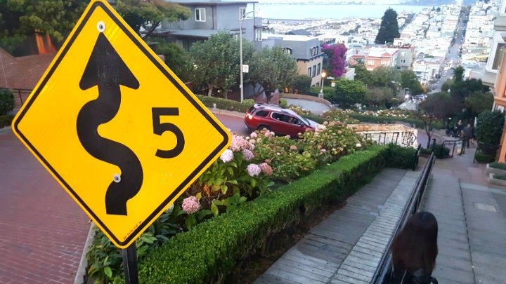 lombard street san francisco - blog GO Voyages