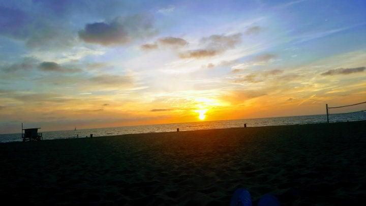coucher de soleil manhattan beach - blog GO Voyages