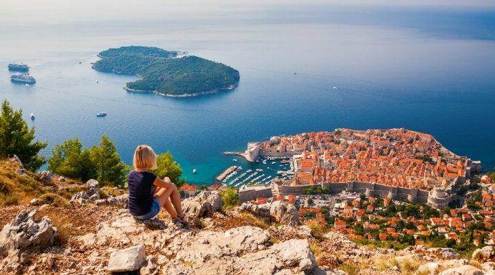 vue de dubrovnik croatie - blog GO Voyages