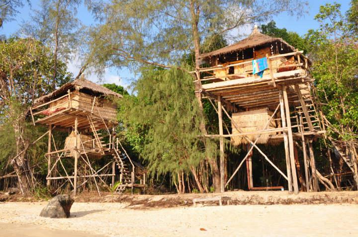 cabane plage koh rong cambodge - blog GO Voyages