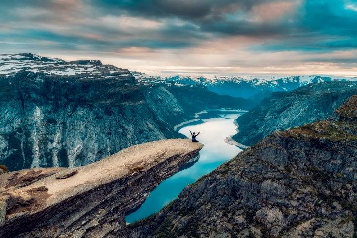 trolltunga fjord norvege - blog GO Voyages