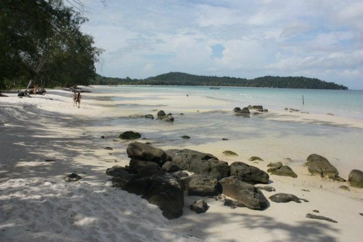plage cambodge - blog GO Voyages