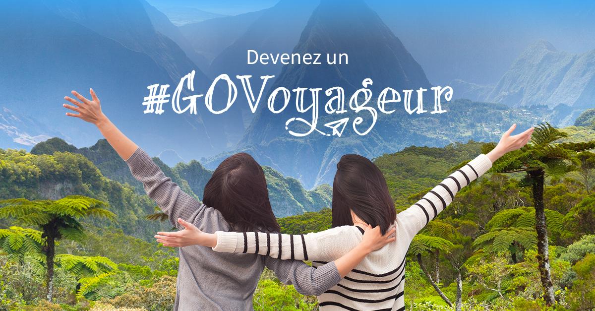 concours #govoyageur la réunion - blog GO Voyages