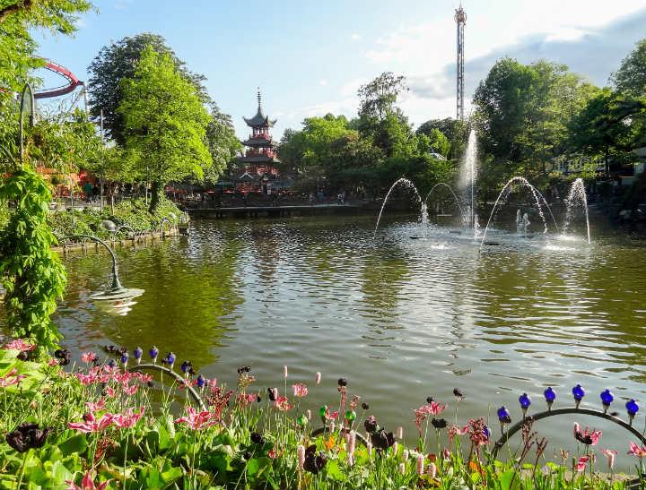 jardin parc de tivoli copenhague - blog GO Voyages