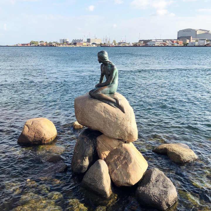 statue petite sirène copenhague - blog GO Voyages