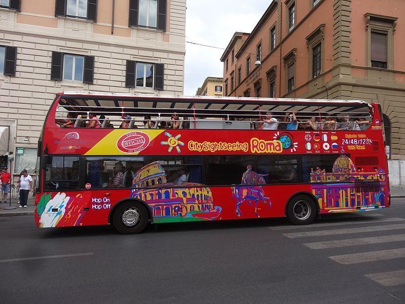 Bus Rome - blog GO Voyages