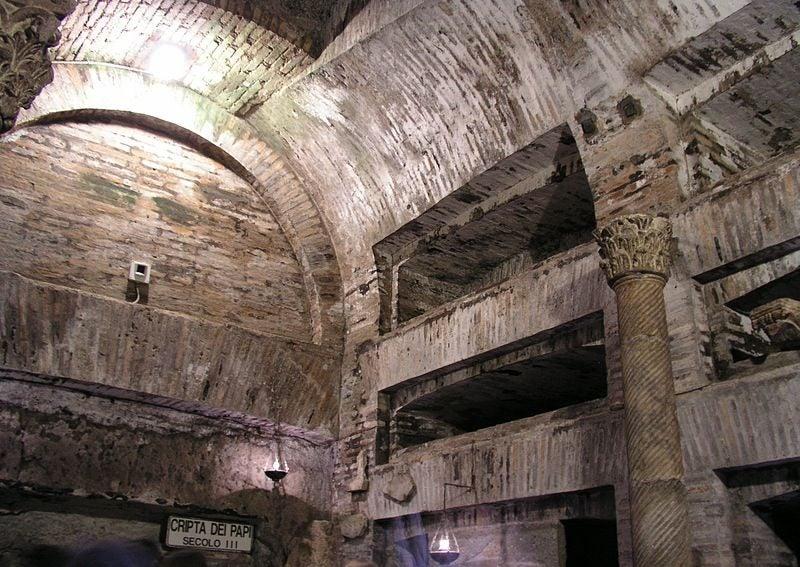 Catacombe di San Callisto - blog GO Voyages