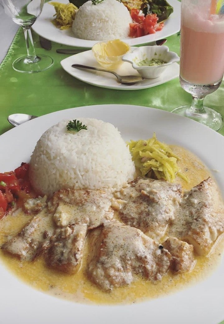 asiette poulet coco riz - blog go voyages