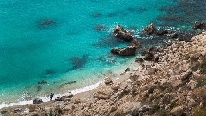 mer turquoise cala de san pedro | plage cabo de gata almería andalousie