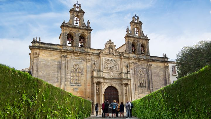 façade plaza vazquez de molina jaen | architecture andalousie