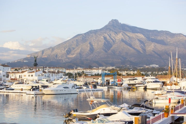 marina puerto banus | vue port de plaisance malaga andalousie
