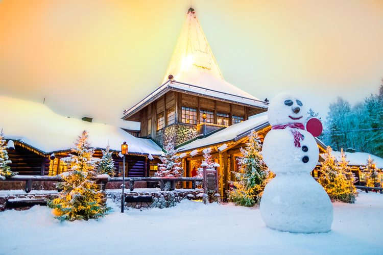 Noël à Rovaniemi, Finlande