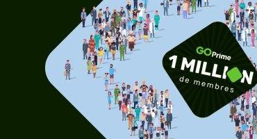 GO Prime atteint le seuil d'un million de membres