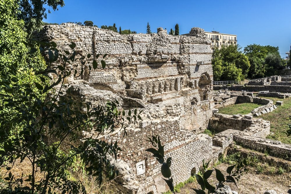 ruines romanes colline de Cimiez Nice