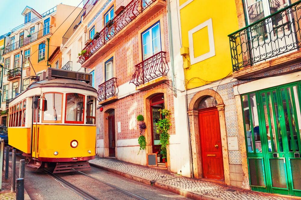 Tram-a-Lisbonne